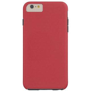 Modern röd anpassadeRuby, Tough iPhone 6 Plus Fodral