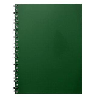 Modern skoggröntanpassade anteckningsbok