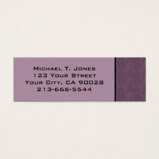 modern skrapa litet visitkort