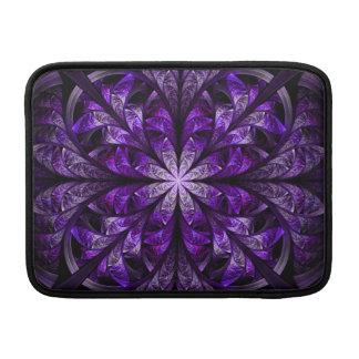 Modern stilfull chic elegant Fractal för kungliga MacBook Air Sleeve