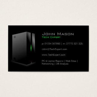 Modern svart teknologi - visitkort