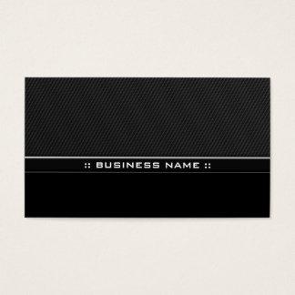Modern svart yrkesmässig elegant metall visitkort