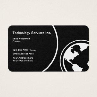 Modern teknologi Deisgn Visitkort