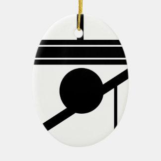 Modern Vibe 4 Julgransprydnad Keramik