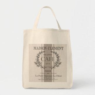 modern vintagefranskcafe mat tygkasse