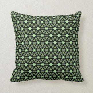 Moderna gröna stjärnor V34 Kudde