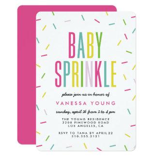 Moderna inbjudningar för babystänkdusch