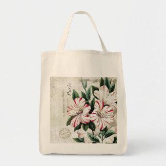 moderna vintagefranskamarylis tote bags