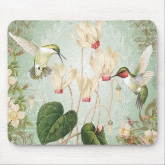 Moderna vintagefranskHummingbirds Musmatta