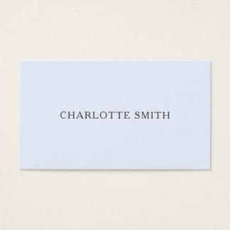 Moderna visitkortar för Minimalist pastellfärgade Visitkort