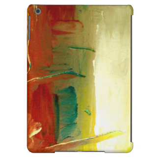 Modernt abstrakt fodral för konstiPadluft iPad Air Fodral