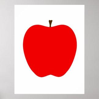 Modernt Apple tryck