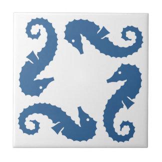 Modernt belägga med tegel för havblått för havet kakelplatta