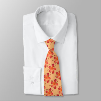 Modernt blommamönster för Tangerine Slips