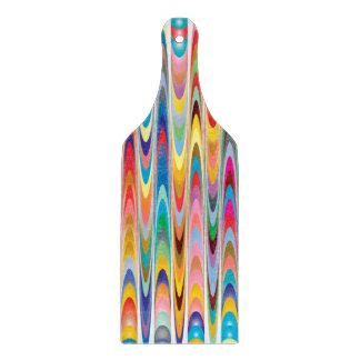 Modernt färgrikt abstrakt mönster