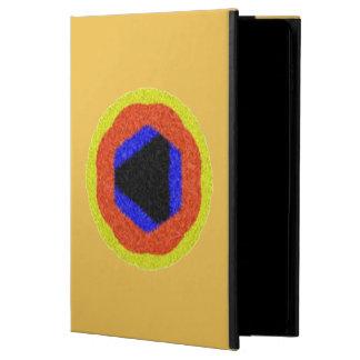 Modernt färgrikt mönster powis iPad air 2 skal