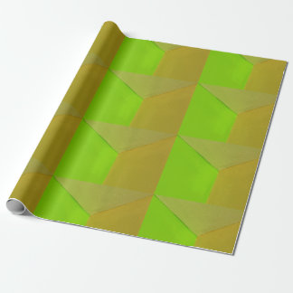 Modernt geometriskt Configurative foto Presentpapper