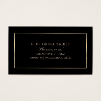 Modernt & göra slät, svarten & guld, fri visitkort