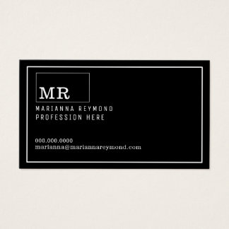 modernt inledningskontakt-kort, yrke visitkort