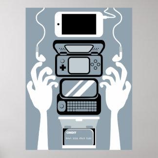 Modernt inventariumaffischtryck poster