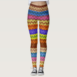 Modernt läder #25 för färgrik sparre leggings