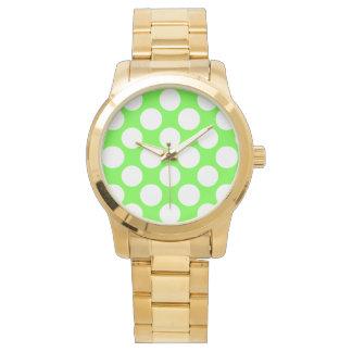 Modernt mönster för polka dots för armbandsur