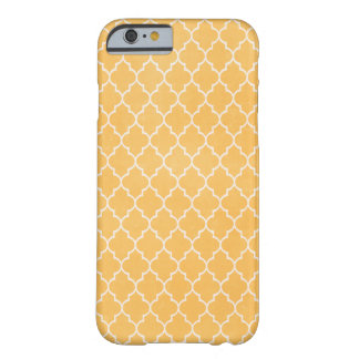 Modernt orange fodral för mönsteriPhone 6 Barely There iPhone 6 Skal