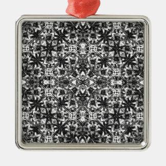 Modernt orientaliskt mönster julgransprydnad metall