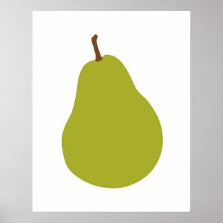 Modernt Peartryck för ditt kök eller hem Poster