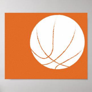 Modernt räcka målad basketkonst - 1 av 6 poster