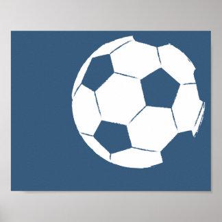 Modernt räcka målad fotbollbollkonst - 1 av 6 poster