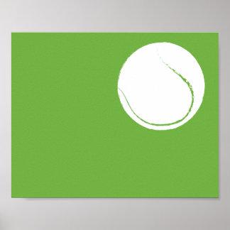 Modernt räcka målad tennisbollkonst - 1 av 6 poster