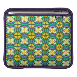 Modernt Seamless abstraktgröntmönster Sleeve För iPads