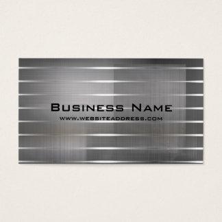 Modernt silver görar randig visitkortar set av standard visitkort