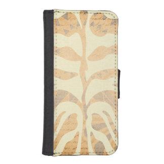 Modernt urblektt sebrarandmönster iPhone SE/5/5s plånboksfodral