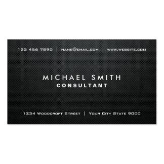 Modernt vanligt enkelt för yrkesmässig elegantsvar visitkort mallar