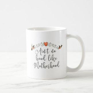 Moderskap roligt citationstecken kaffemugg