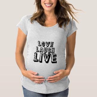 Moderskapskjorta för tre enkel regler tee