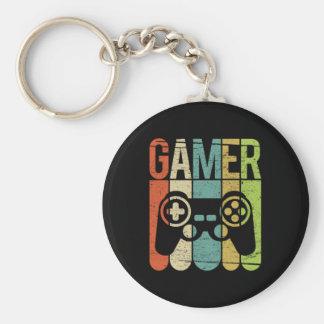 Modig kontrollant för Gamer Rund Nyckelring