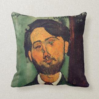 Modigliani - porträtt av Leopold Zborowski kudder Kudde