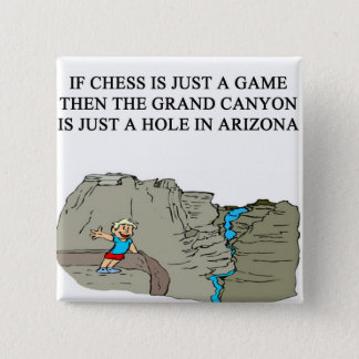 modigt spelaregrand Canyon för schack Standard Kanpp Fyrkantig 5.1 Cm