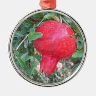 Mogen Pomegranateprydnad Julgransprydnad Metall