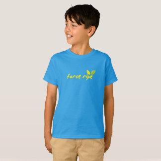 Mogna barns för styrka utslagsplats tröja