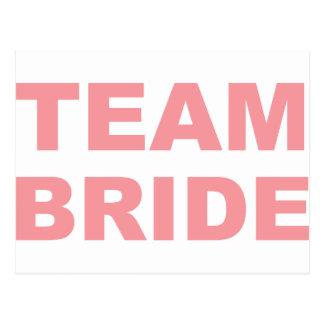 Möhippa för lagbrudbröllop vykort