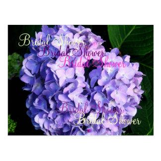 Möhippa - (lavendelvanlig hortensia) vykort