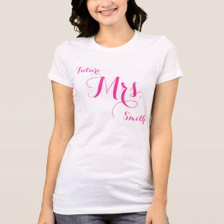 Möhippagåvor - vitkvinna Jersey T-tröja Tee Shirts