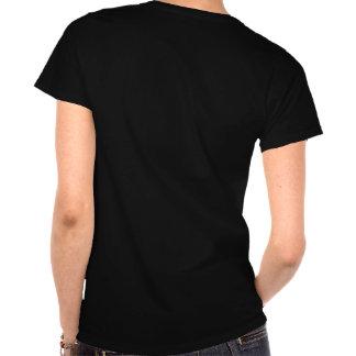 Möhippat-skjorta (svarten och rosor) tee shirt