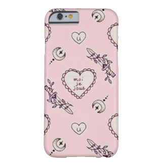 Moi-je Joue EMILY x MILKGRRL Barely There iPhone 6 Fodral