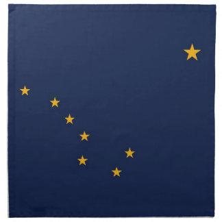 MoJo för Alaska statlig flaggaamerikan servett