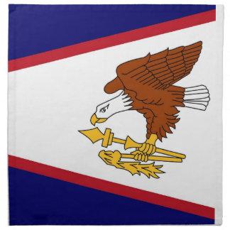 MoJo för American Samoa flaggaamerikan servett